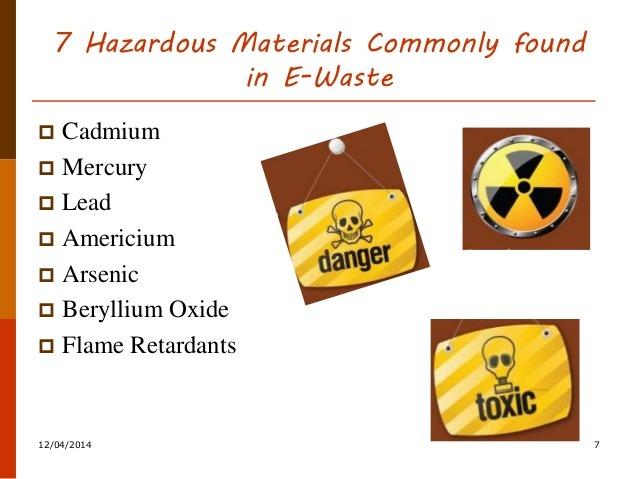 Hazardous E-waste